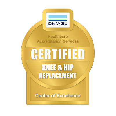 DNV GL Hip and Knee Replacement Certification